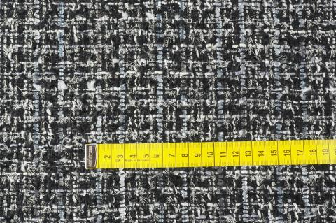 d9c91dd043655f Florentine. Włoskie tkaniny - sklep z materiałami > Chanelka - Czerń ...